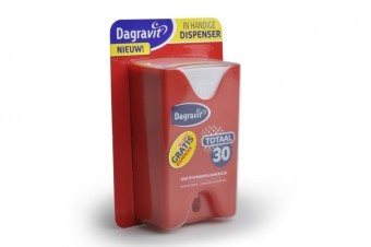 Dagravit offers nutritive supplements and sells in packages of 150 pills.