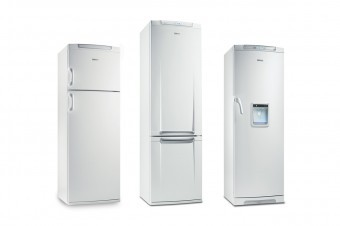 The Electroux refrigerator range demonstrates how a common design-DNA can merge different products to a family.